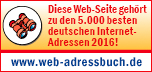 Logo Webadressbuch 2016 - druckereien.info ist eine der wichtigsten Deutschen Internetseiten.